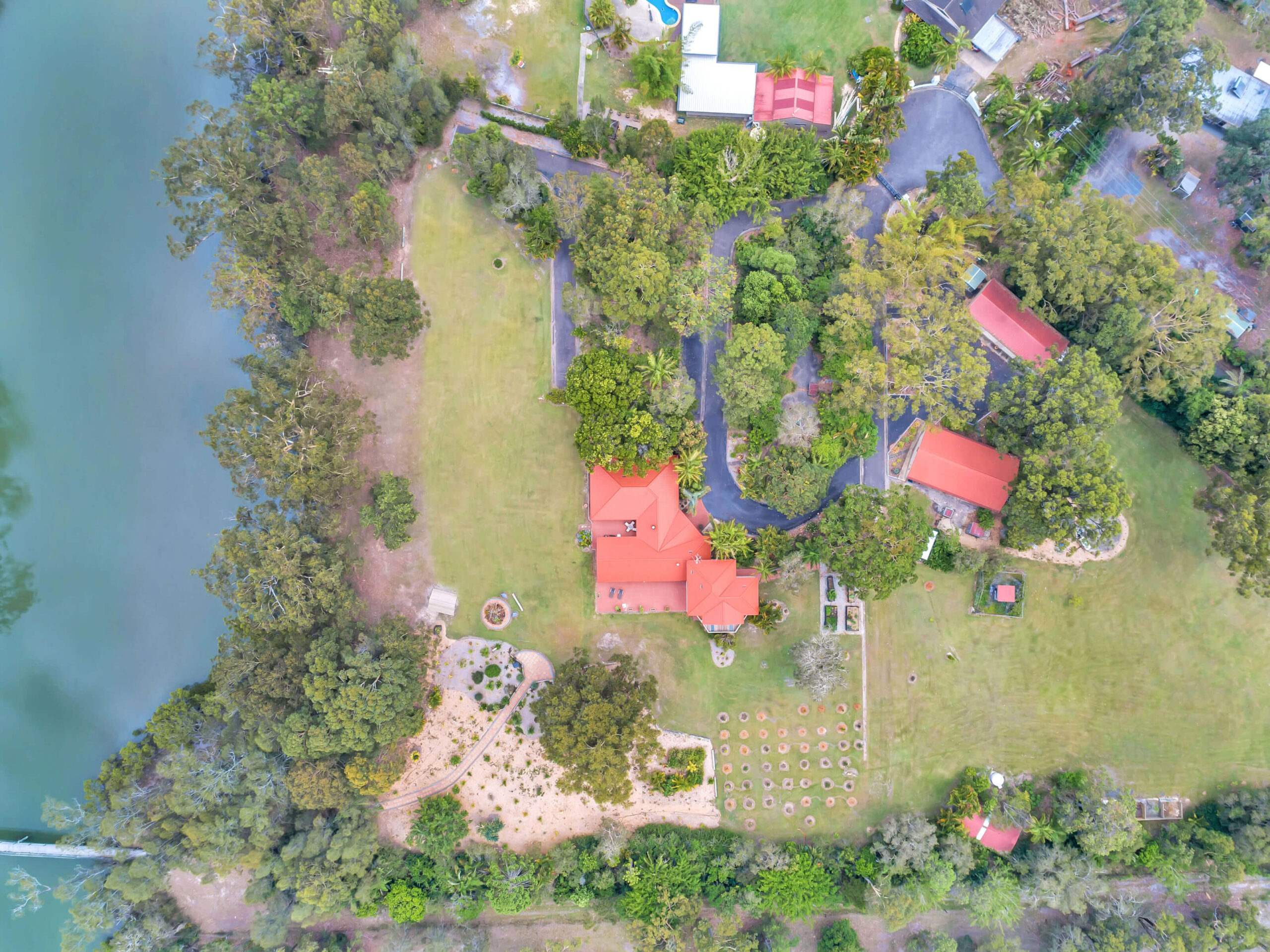 Property Aerial from above